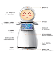 COMMERCIAL WELCOME  ROBOT FOR PUBLIC SERVICE